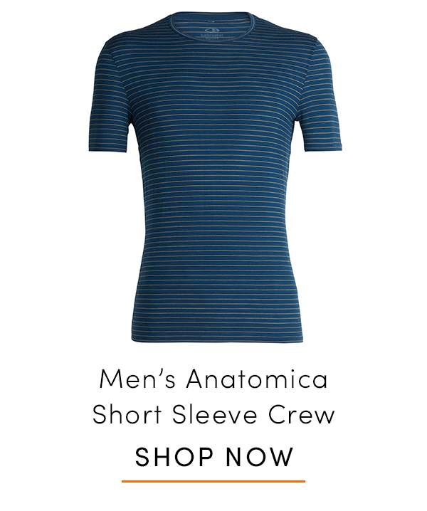 Men's Anatomica Short Sleeve Crewe